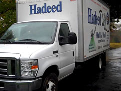 hadeed cleaning truck